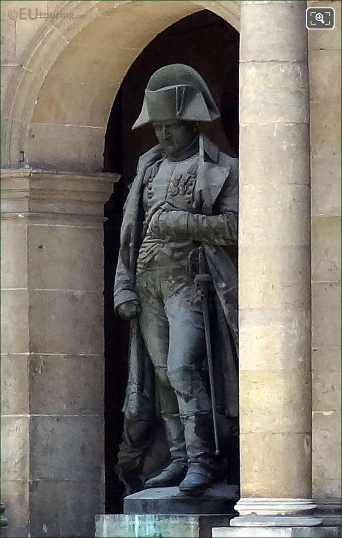 Hotel Les Invalides Napoleon I Statue
