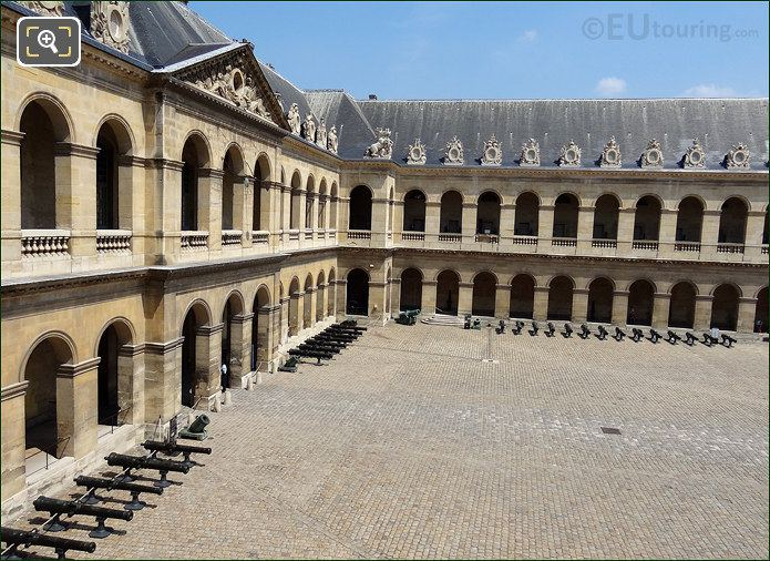 Les Invalides Court Of Honour North East Corner