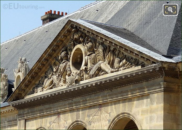 Les Invalides North Pediment