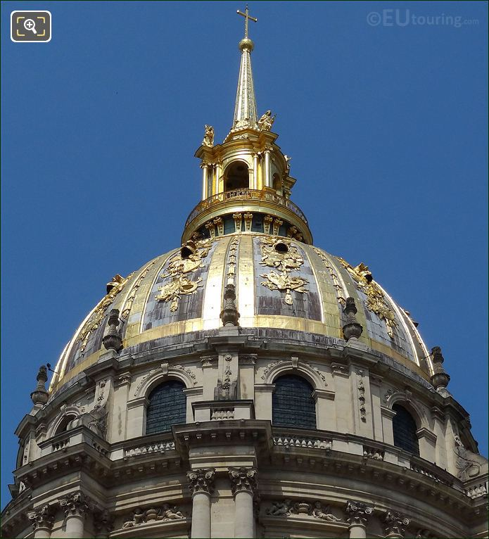 The Eglise Dome At Les Invalides