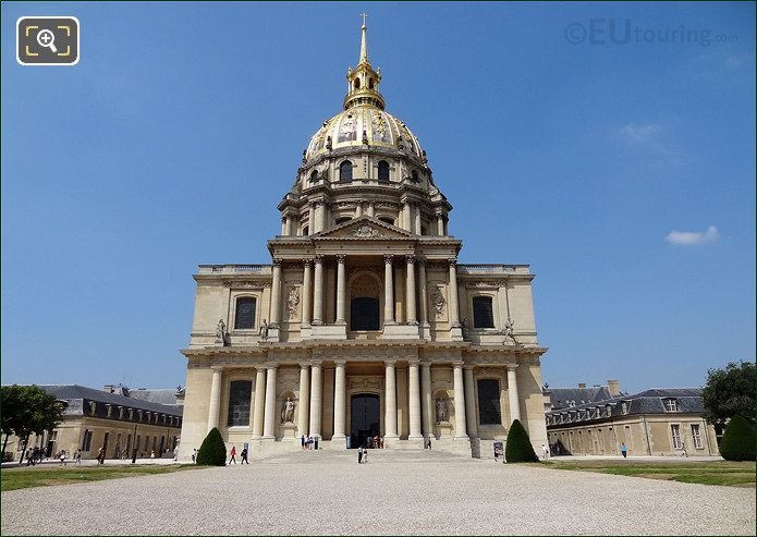The Eglise Du Dome At Hotel Les Invalides
