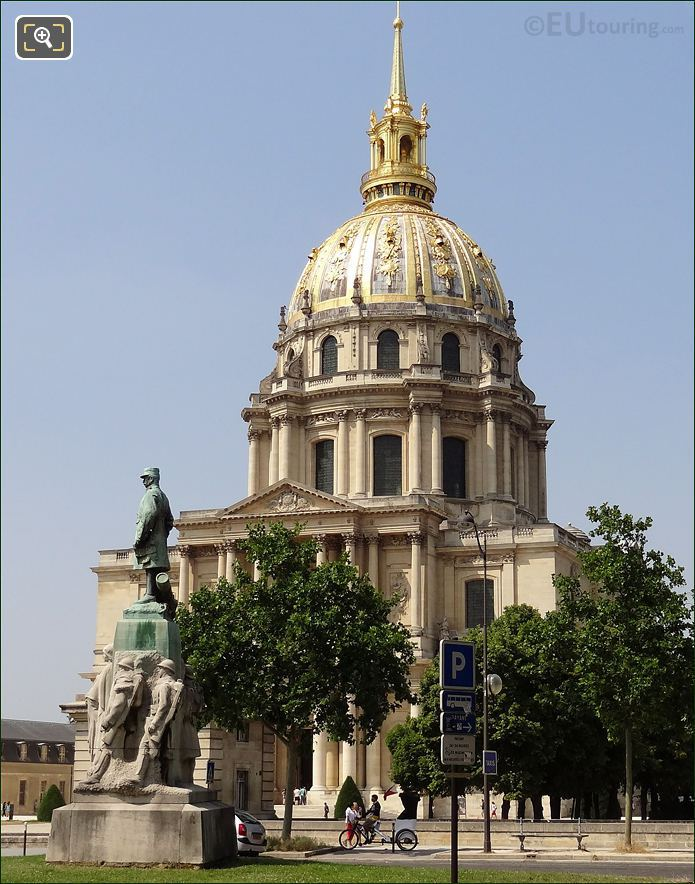 The Royal Chapel De Saint Louis Des Invalides