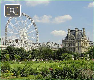 Pavillon De Marsan And Ferris Wheel