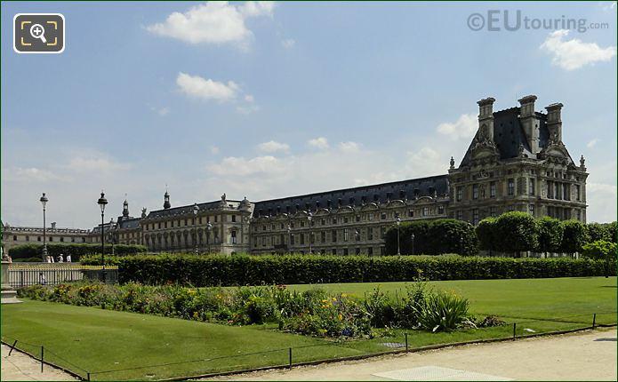 Pavillon De Flore, Aile De Flore And Pavillon Des Etats