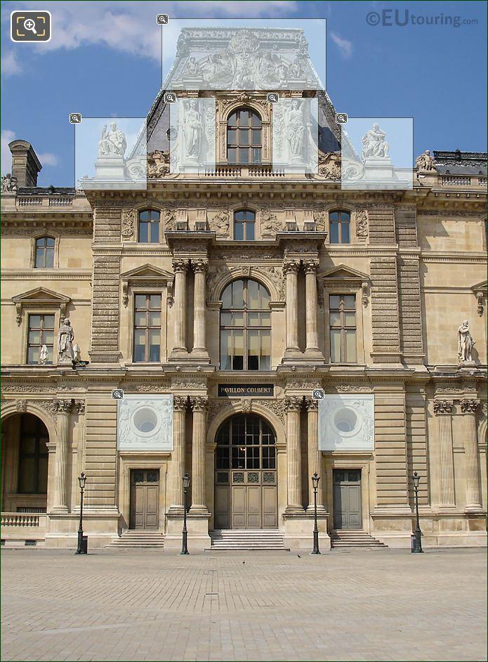 Pavillon Colbert South Facade