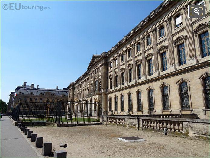 Louvre Museum Aile Sud Entrance