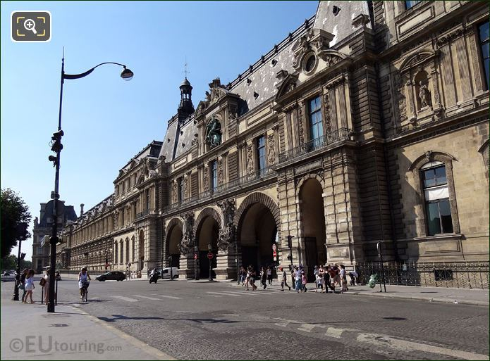 South Entrance Louvre Museum