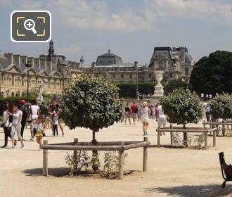 Pavillon Turgot From Tuileries Gardens