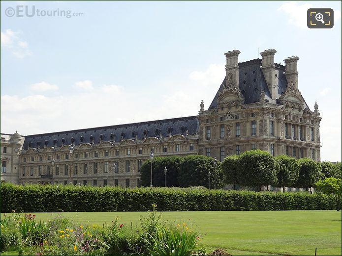 Louvre Museum Pavillon de Flore