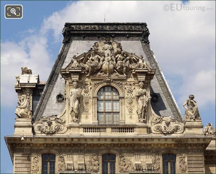 Pavillon Turgot At The Louvre