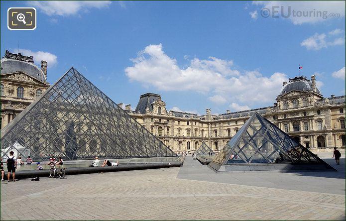 Louvre Museum Cour Napoleon