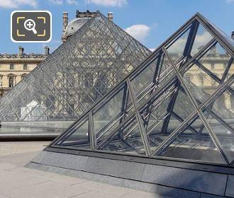 Pyramids Designed By I M Pei