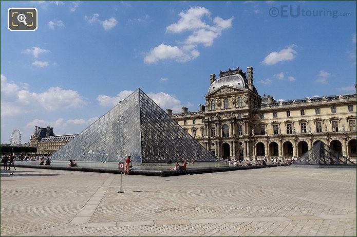 Louvre Museum I M Pei Pyramid
