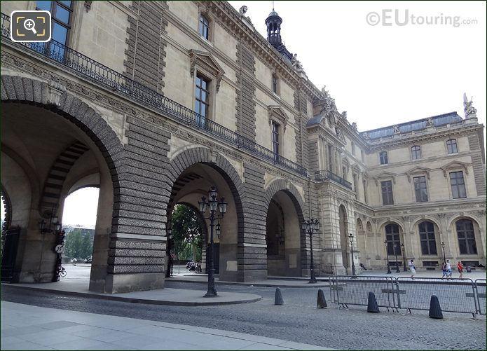 Louvre Museum South Entrance