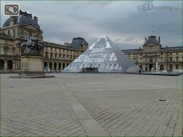 Pyramid West And South Facades