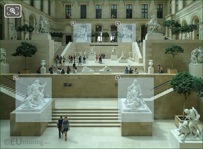 Cour Marly Inside Richelieu Wing