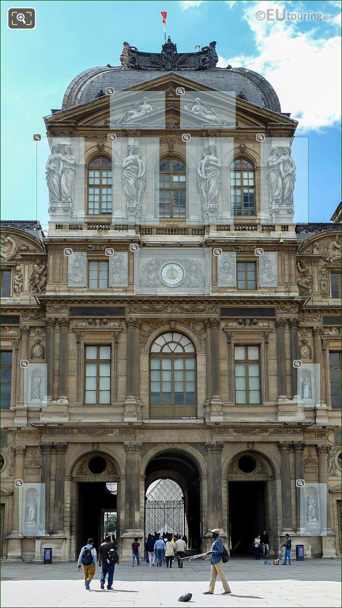 Pavillon De l'Horloge Cour Carree