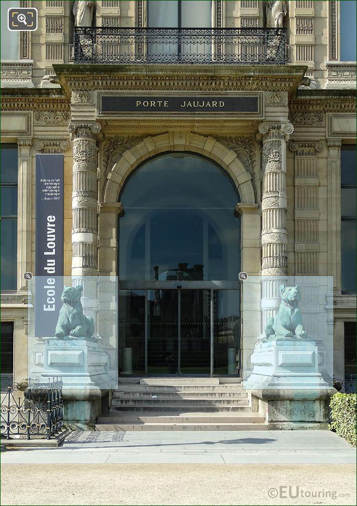 Bronze Lions Of Porte Jaujard
