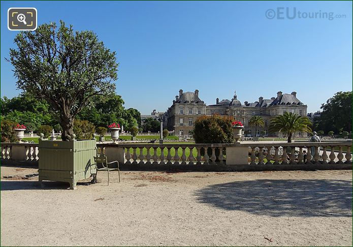 Jardin Du Luxembourg South End Western Semicircular Terrace