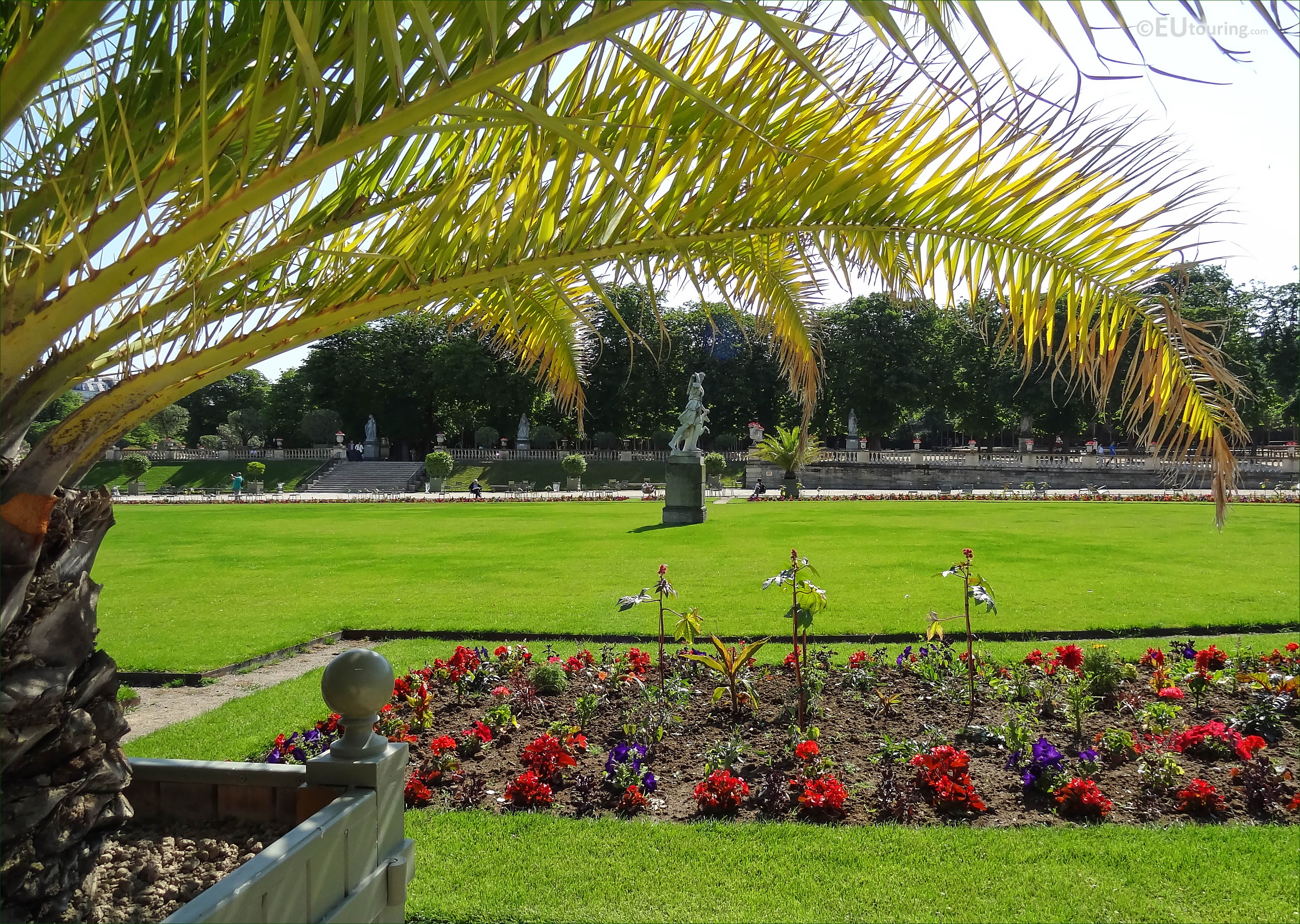 Where is the Luxembourg Garden History 57