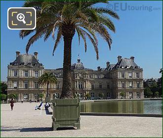 Jardin Du Luxembourg Palace And Grand Basin