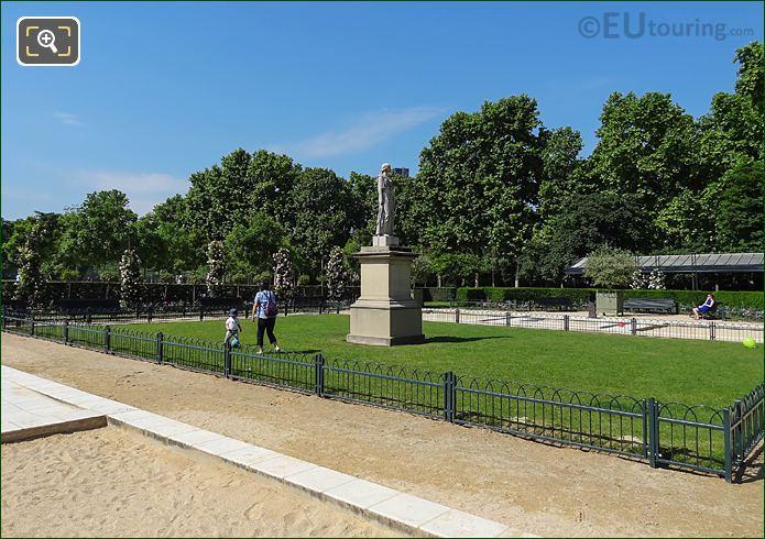 Grass Area Of Jardin De La Roseraie