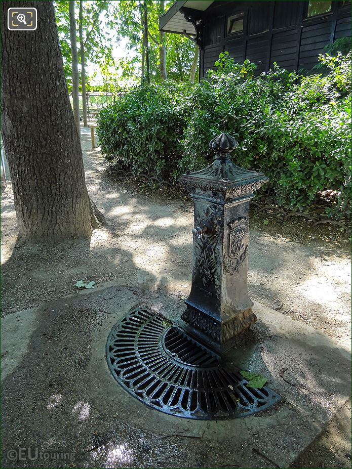 Drinking Water Jardin Du Luxembourg Wallace Fountain