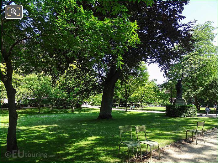 Jardin Du Luxembourg Western Garden Statue Of Liberty Looking SE