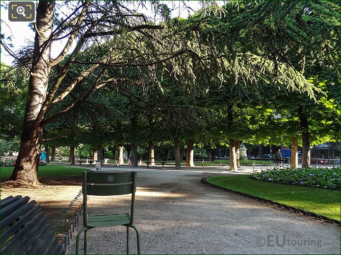 Jardin Du Luxembourg Historical Trees East Side Gardens