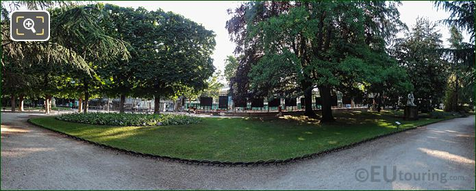 Jardin Du Luxembourg East Side Entrance Place Edomond Rostand