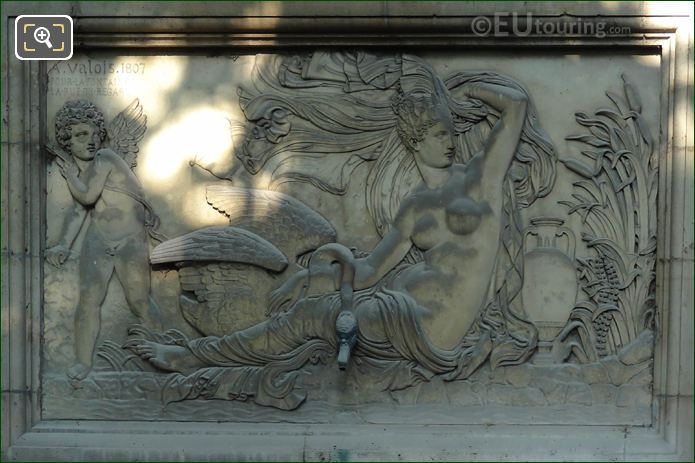 Leda And The Swan Sculpture