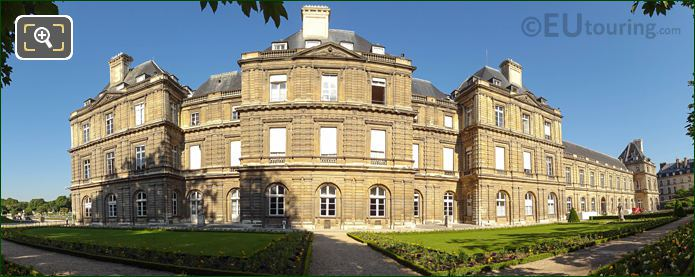 Panoramic Photo Of Palais du Luxembourg East Facade