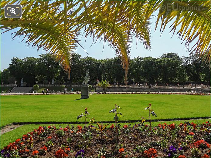 Jardin Du Luxembourg Central Parterre Looking East
