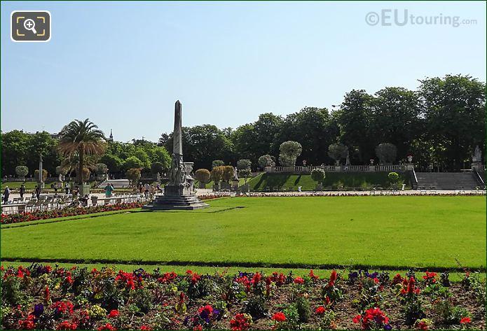 French Gardens In Central Garden Area Jardin Du Luxembourg