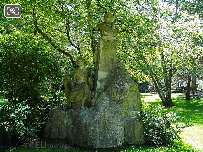 Jardin Du Luxembourg Ferdinand Fabre Monument