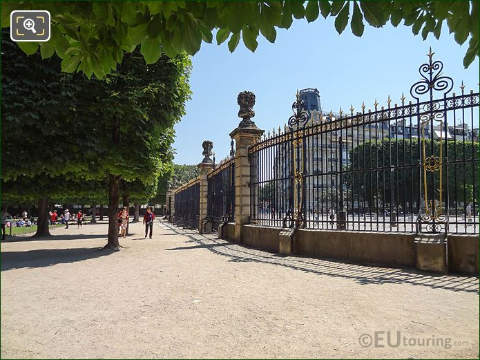 Jardin Du Luxembourg South Gilded Railings And Gates