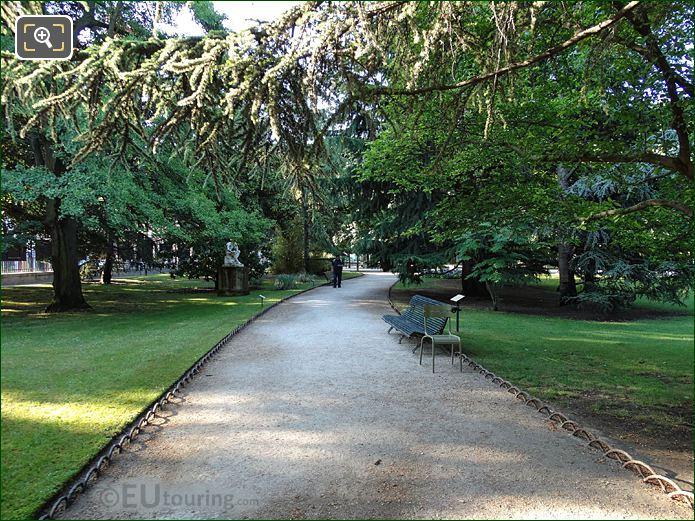 Gravel Garden Path Eastern Side Jardin Du Luxembourg Paris