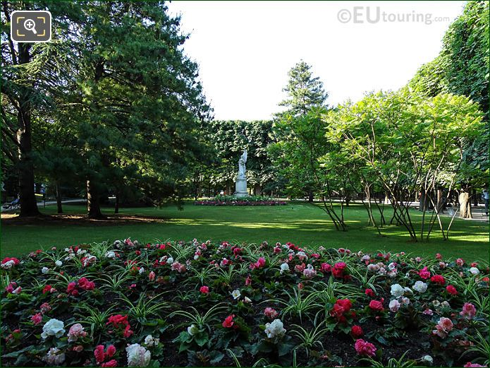 Southerly View In Jardin Du Luxembourg Eastern Gardens