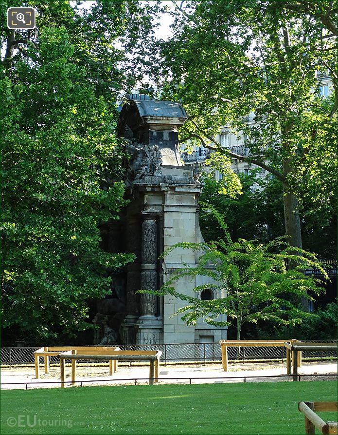 Jardin Luxembourg Fontaine Medicis South Facade