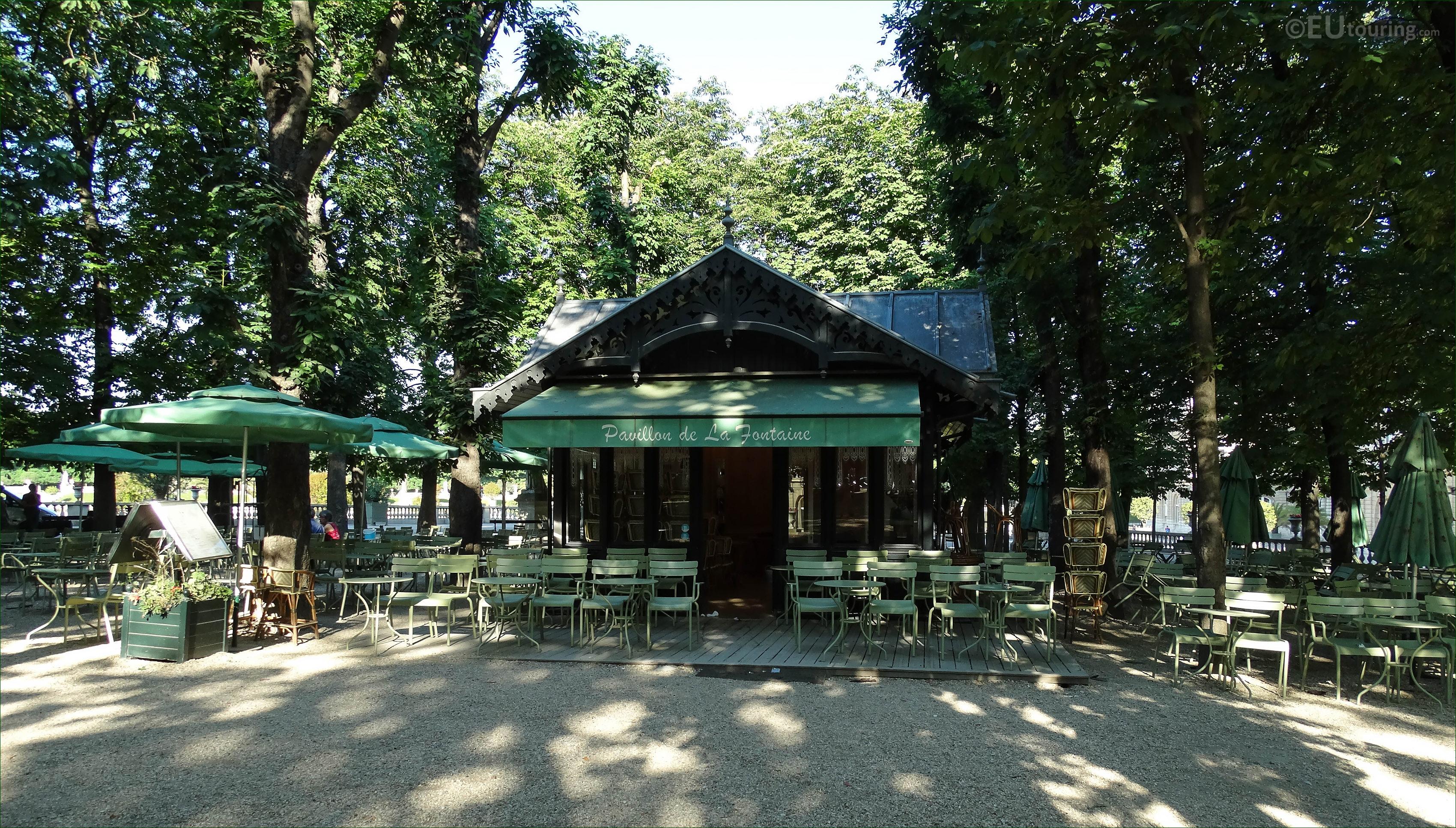 Photos of Jardin du Luxembourg public gardens in Paris