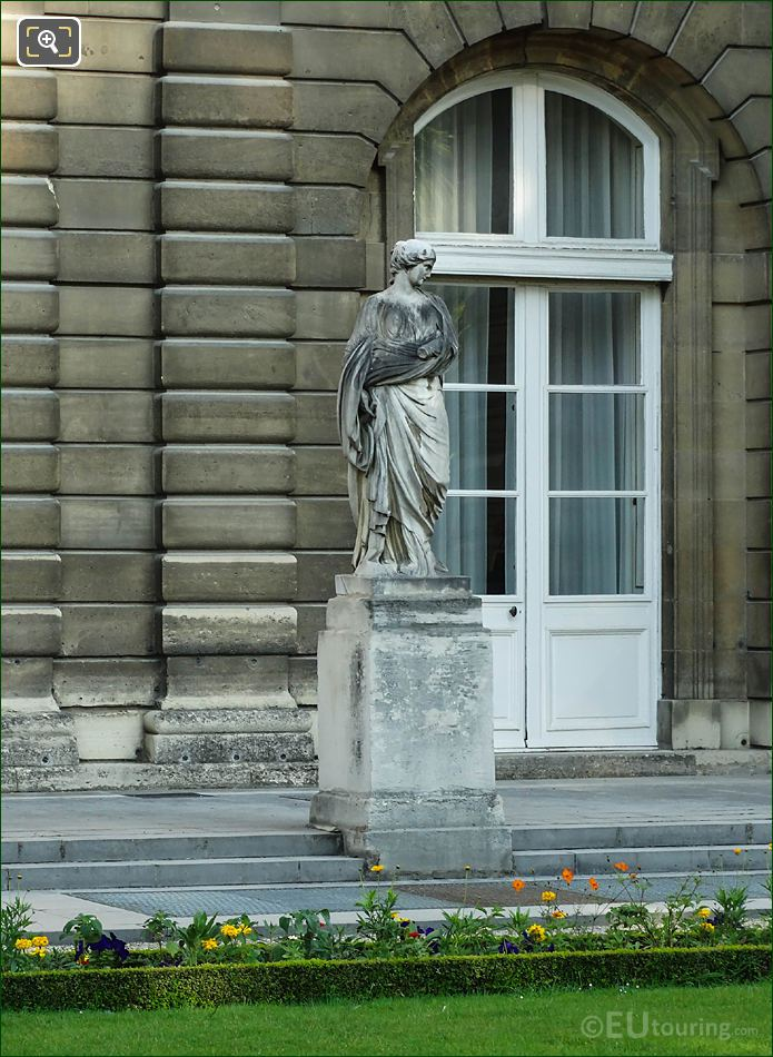 Jardin Du Luxembourg Sainte Suzanne Statue Luxembourg Palace East Facade