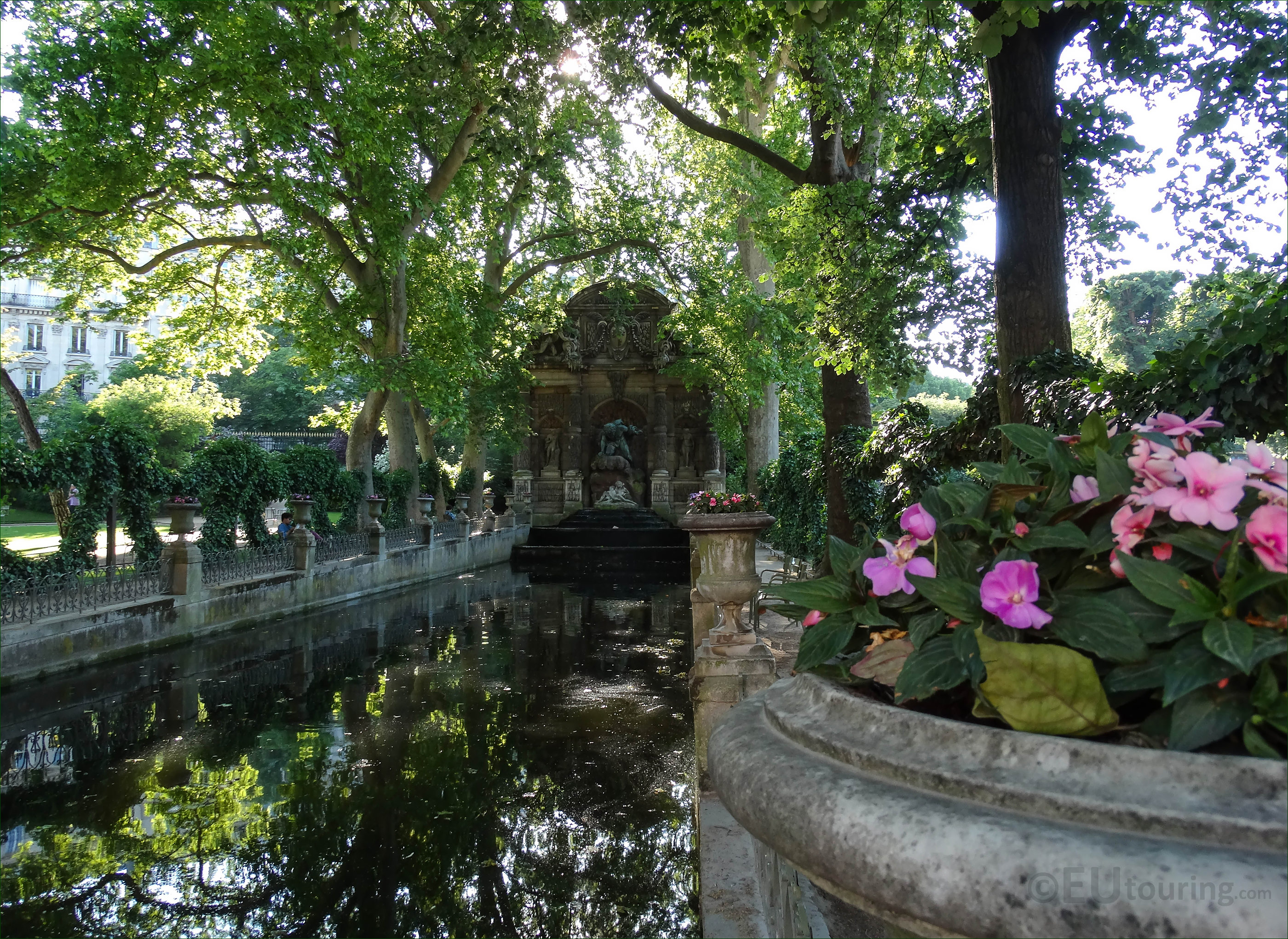 Where is the Luxembourg Garden History 14