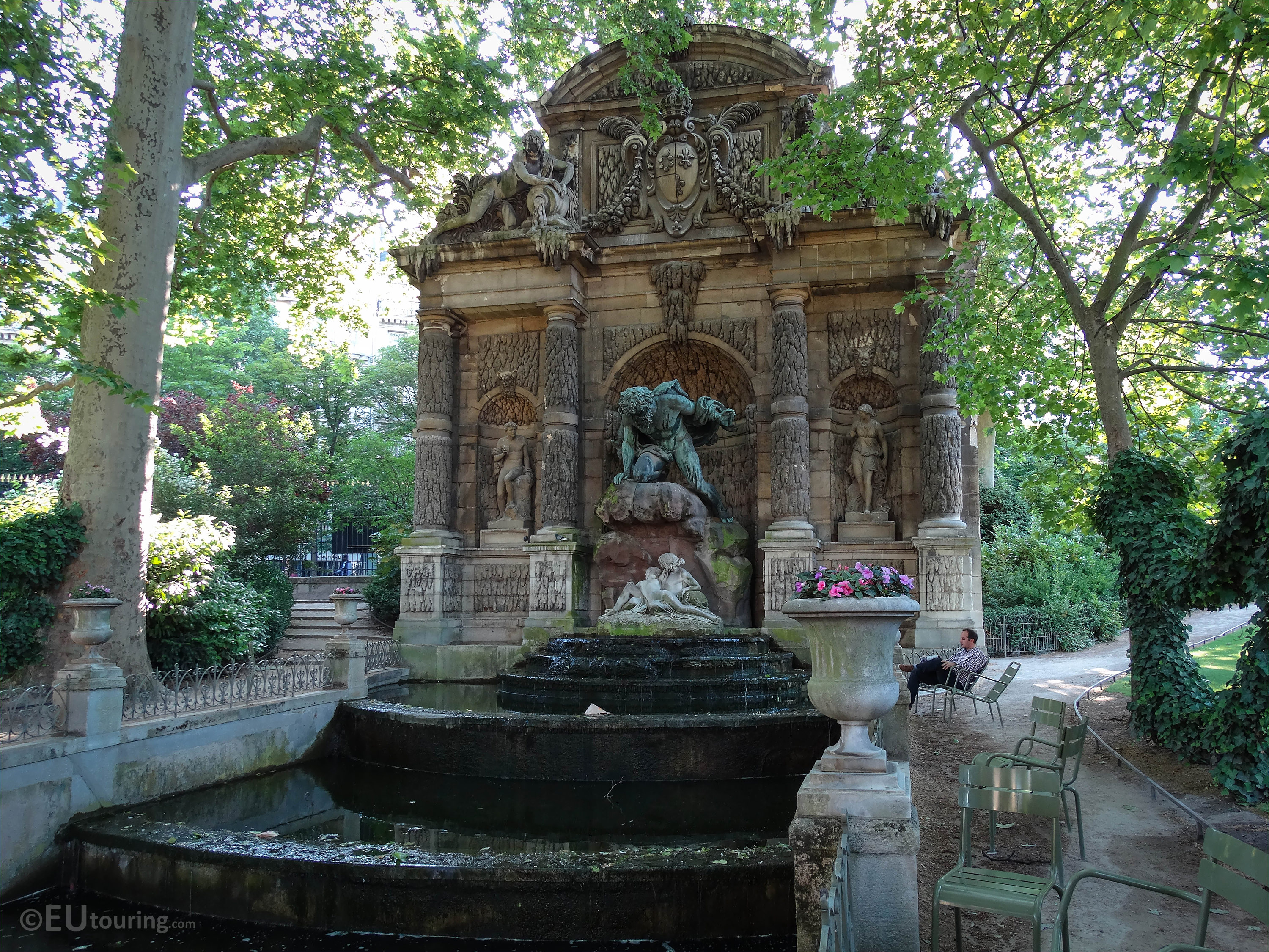 Grand Foyer Jardin Du Luxembourg : Photos of fontaine medicis in jardin du luxembourg page