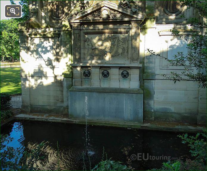 Jardin Du Luxembourg Fontaine De Leda And Pond