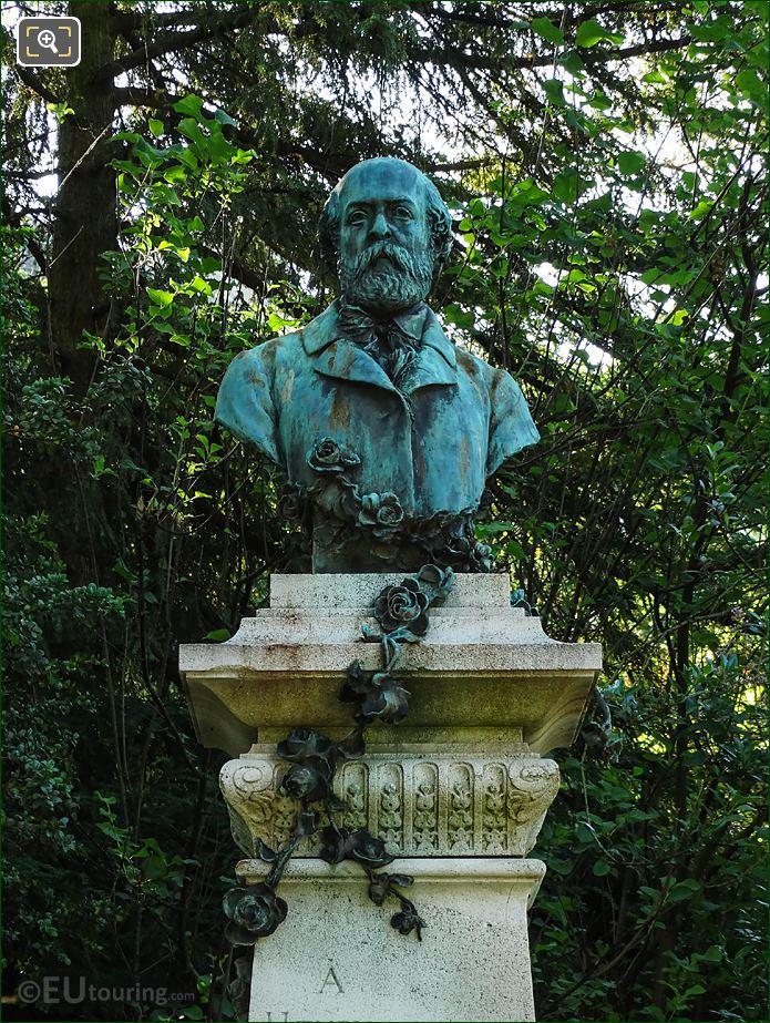 Jardin Du Luxembourg Bust Of Henry Murger