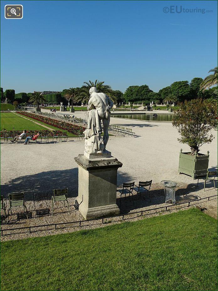 Back Of Marius Debout Sur Les Ruines De Carthage Statue Jardin Du Luxembourg