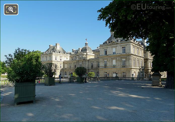 View Of Palais Du Luxembourg From East Terrace