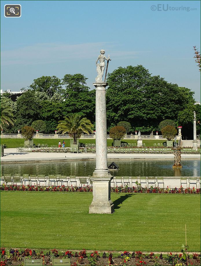 West View Over Jardin Du Luxembourg Grand Basin