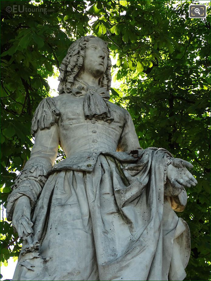 Jardin Du Luxembourg Anne Marie Louise d'Orleans Statue Eastern Terrace