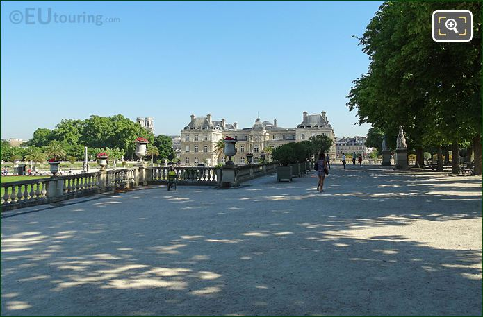 North View Over Jardin Du Luxembourg East Terrace
